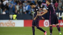 Bị cấm thi đấu 3 trận, Neymar lỡ cả Clasico