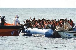 Chìm tàu ngoài khơi Libya, gần 100 người mất tích