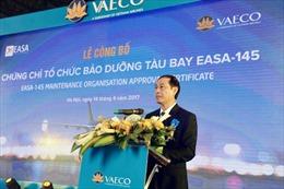 VAECO đạt trình độ bảo dưỡng máy bay chuẩn quốc tế