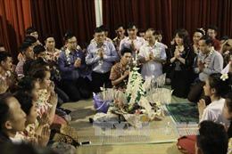 Rộn rã Tết té nước của dân tộc Lào ở Điện Biên