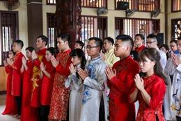 Tuổi trẻ Thủ đô đi đầu trong thực hiện đám cưới theo nếp sống mới