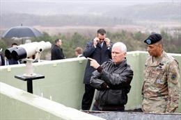 Phó Tổng thống Mỹ Mike Pence tung thông điệp cứng rắn đối với Triều Tiên
