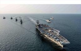 Giữa căng thẳng trên Bán đảo Triều Tiên, thế giới bất ngờ với vị trí của tàu USS Carl Vinson