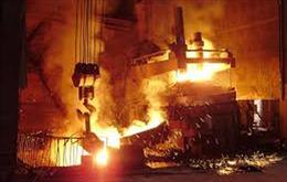 Vụ nổ lò nấu phôi thép tại Hải Phòng: Khẩn trương điều trị cho 4 công nhân