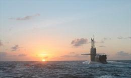 Căng thẳng chưa lắng, Mỹ điều tiếp tàu ngầm hạt nhân đến tập trận gần Bán đảo Triều Tiên