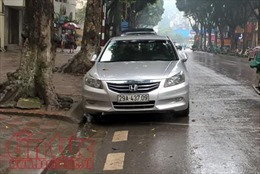 Hà Nội thí điểm iParking thanh toán phí trông giữ xe ôtô qua điện thoại