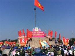 Quảng Trị long trọng tổ chức lễ Thượng cờ 'Thống nhất non sông'