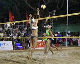 Kazakhstan vô địch Giải Bóng chuyền bãi biển nữ châu Á năm 2017