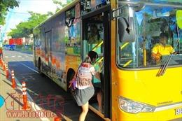 Doanh nghiệp 'thờ ơ' với quảng cáo trên xe buýt
