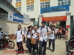 Tuyển sinh lớp 10 tại TP Hồ Chí Minh: Các trường tốp giữa tăng tỷ lệ chọi