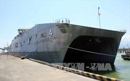 Tàu Hải quân Mỹ USNS Fall River cập cảng Tiên Sa, Đà Nẵng