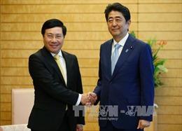 Nhật Bản mong muốn thúc đẩy mạnh mẽ và toàn diện hơn nữa quan hệ với Việt Nam