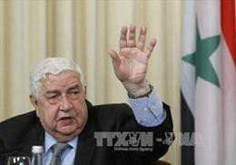 Syria chỉ chấp nhận lực lượng Nga tại vùng giảm căng thẳng
