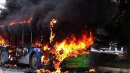Cháy xe buýt khiến 10 trẻ mẫu giáo Hàn Quốc thiệt mạng