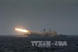 Trung Quốc diễn tập bắn đạn thật gần Triều Tiên