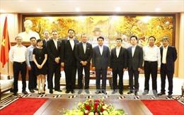 Hà Nội sẵn sàng tạo điều kiện đầu tư thuận lợi cho doanh nghiệp nước ngoài