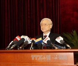 Toàn văn phát biểu của Tổng Bí thư tại Lễ bế mạc Hội nghị Trung ương 5