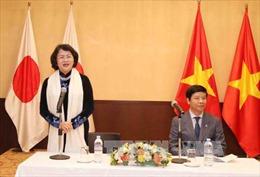Phó Chủ tịch nước Đặng Thị Ngọc Thịnh bắt đầu chuyến thăm Nhật Bản
