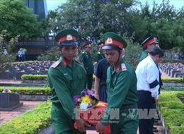 Truy điệu và an táng 29 liệt sĩ hy sinh tại Campuchia