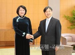 Phó Chủ tịch nước Đặng Thị Ngọc Thịnh tiếp kiến Nhà Vua và Hoàng hậu Nhật Bản