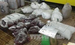 Thu 1,6 tấn nội tạng động vật hôi thối đang trên đường ra Hà Nội tiêu thụ