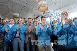 Đảng CDU của Thủ tướng Đức giành chiến thắng tại bang North Rhine-Westphalia