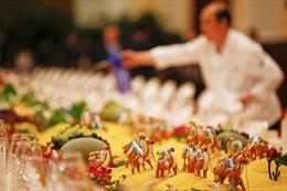 Yến tiệc trang nhã đãi quan khách dự Diễn đàn 'Vành đai và con đường'