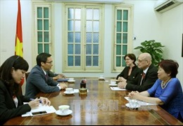 Phó Thủ tướng Vũ Đức Đam tiếp đoàn UNAIDS Khu vực Châu Á- Thái Bình Dương