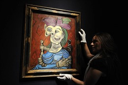Bán đấu giá 45 triệu USD cho bức tranh của danh họa Picasso