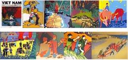 Triển lãm tranh cổ động của hoạ sĩ Cuba hai lần tới Việt Nam trong chiến tranh
