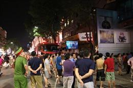Hà Nội: Cháy cửa hàng điện tử ngay sát rạp chiếu phim Kim Đồng
