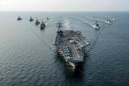 Mỹ điều động tàu sân bay hạt nhân thứ 2 tới Bán đảo Triều Tiên