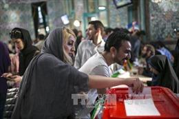 Bầu cử Iran: Đương kim Tổng thống Rouhani chiếm ưu thế