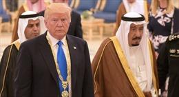 Saudi Arabia đón tiếp Tổng thống Donald Trump xa hoa, Israel vội bổ sung nghi lễ