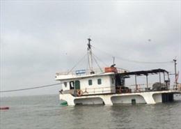 Ngày 22/5 trục vớt tàu Bình Dương 658 bị chìm tại cảng Lạch Huyện