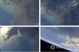 Triều Tiên 'khoe' ảnh Trái Đất do tên lửa đạn đạo chụp từ tầng khí quyển