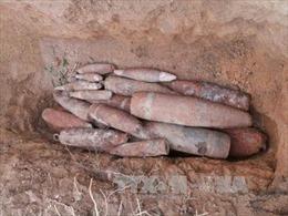 Bình Phước hủy nổ nhiều bom đạn sót lại sau chiến tranh