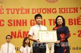 Hà Nội tuyên dương, khen thưởng hơn 1.000 học sinh giỏi tiêu biểu