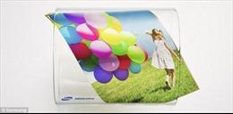 Samsung hé lộ mẫu màn hình co giãn đầu tiên trên thế giới