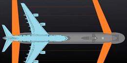 Kỳ lạ chiếc tàu ngầm khổng lồ Nga được gắn cánh máy bay