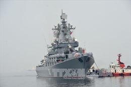 Tàu chiến Nga tập trận chống tàu ngầm tại Địa Trung Hải