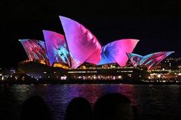 'Nhà sò' lung linh trong Lễ hội ánh sáng Vivid Sydney 2017