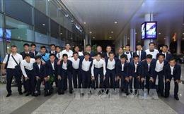 U20 Việt Nam trở về sau 'hành trình lịch sử'