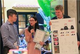 Thiết kế 'Tịnh Liên' giành giải nhất cuộc thi 'Hanoia Design Contest'