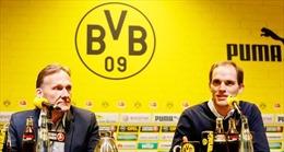HLV Tuchel chia tay Dortmund do bất đồng với Ban lãnh đạo CLB