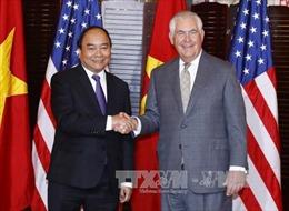 Thủ tướng Nguyễn Xuân Phúc dự chiêu đãi cấp Nhà nước của Hoa Kỳ
