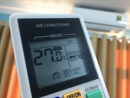 Nắng nóng kỷ lục, sử dụng điều hòa tiết kiệm điện với chế độ DRY