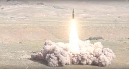 Cận cảnh lần đầu Iskander-M được phóng từ bên ngoài nước Nga