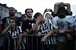 Vui buồn tương phản của các CĐV Real Madrid và Juventus, hàng trăm người bị thương tại Turin