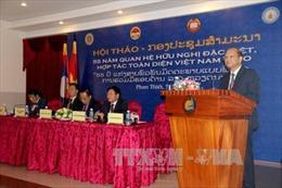 Nâng quan hệ đoàn kết đặc biệt, hợp tác toàn diện Việt Nam - Lào lên tầm cao mới